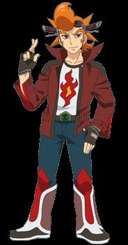 Fourth Omni Fire Lord, Burn Nova (character)