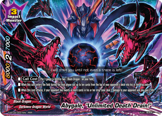 "Abygale, ""Unlimited Death Drain!"""
