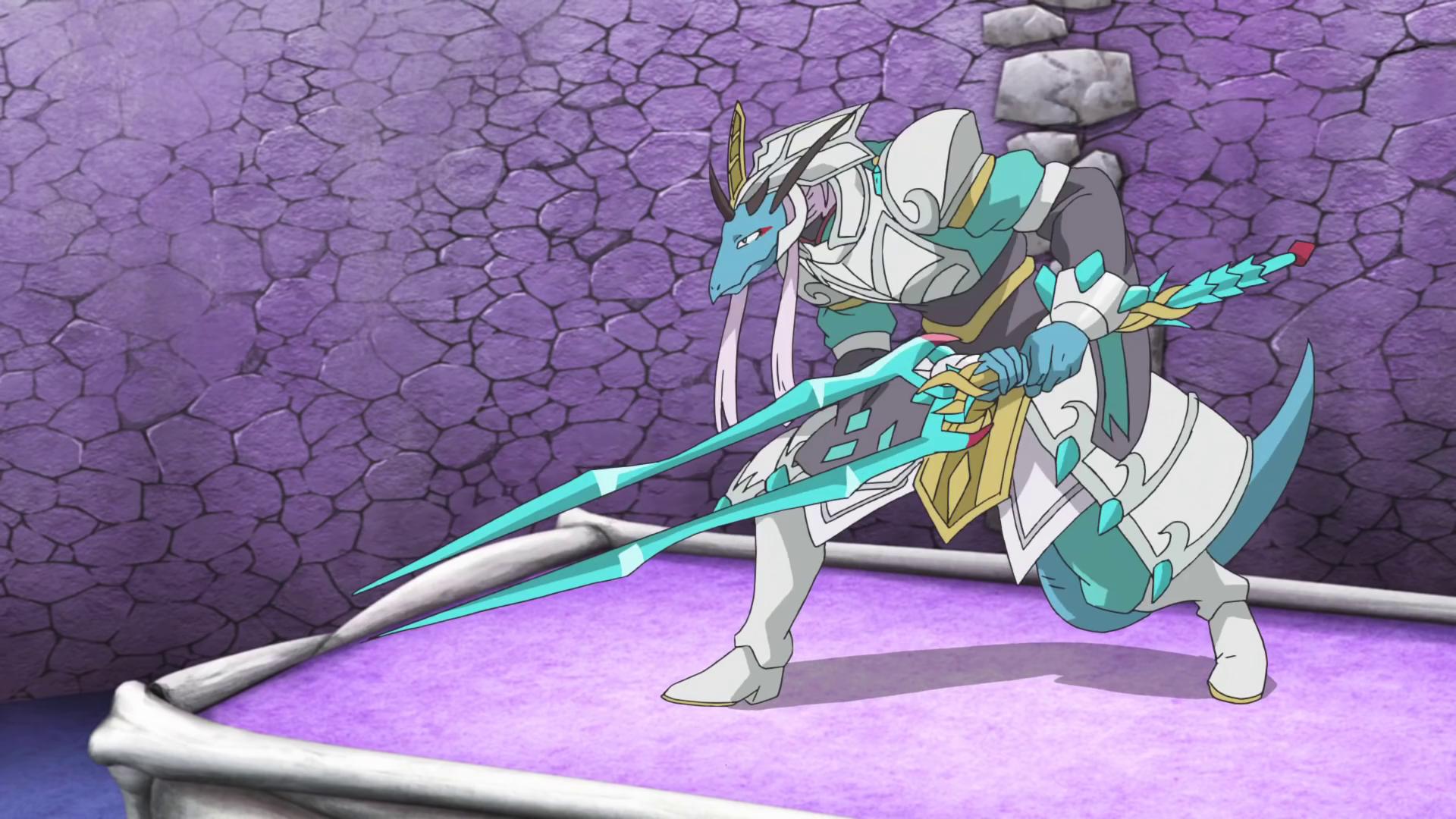 Fifth Omni Cavalry Dragon, Ice Lance Merak (character)