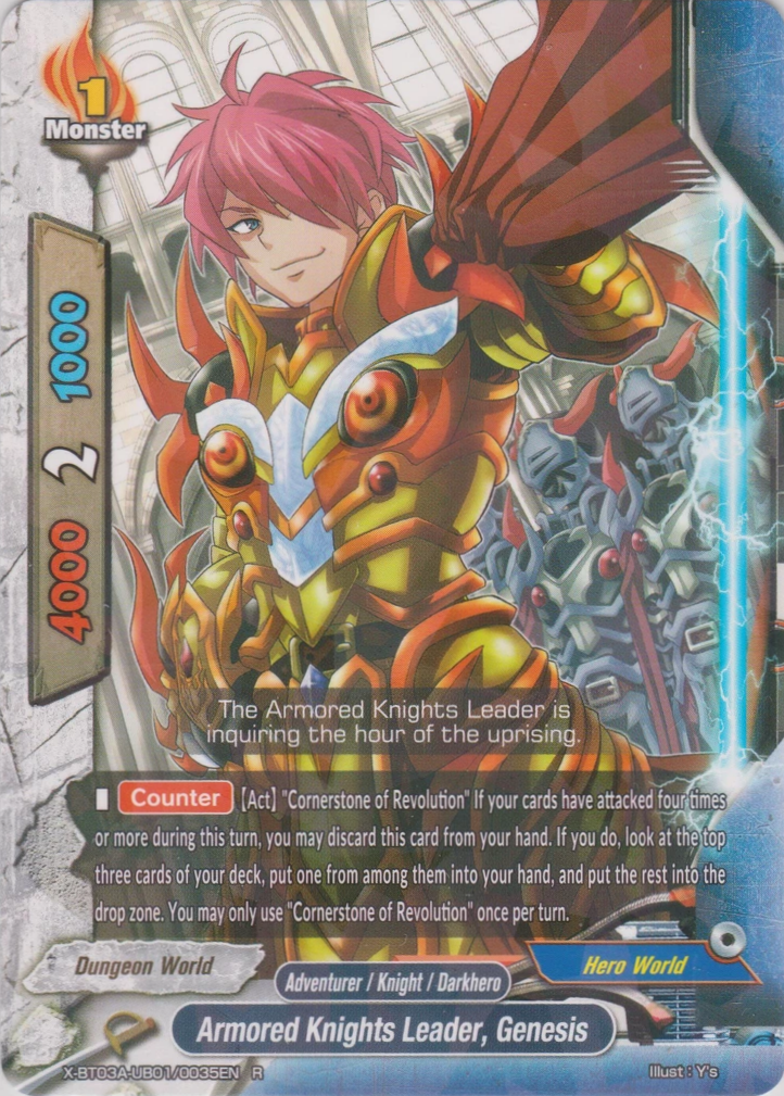 Armored Knights Leader, Genesis