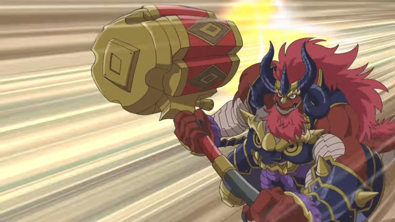 Fifth Omni Cavalry Dragon, Explosive Hammer Fuad (character)