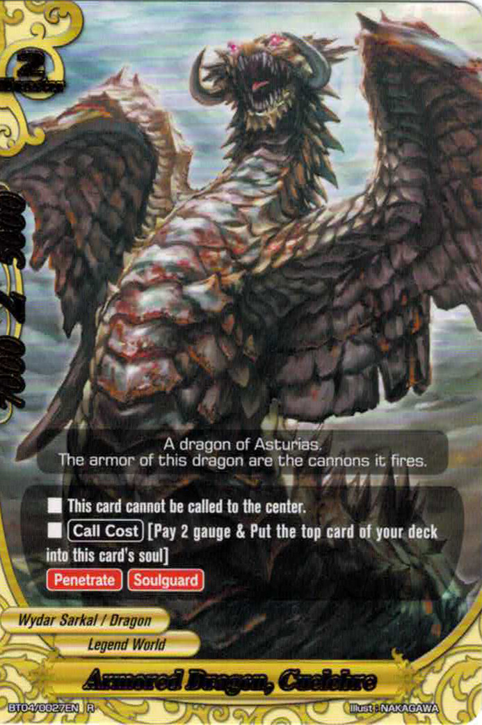 Armored Dragon, Cuelebre