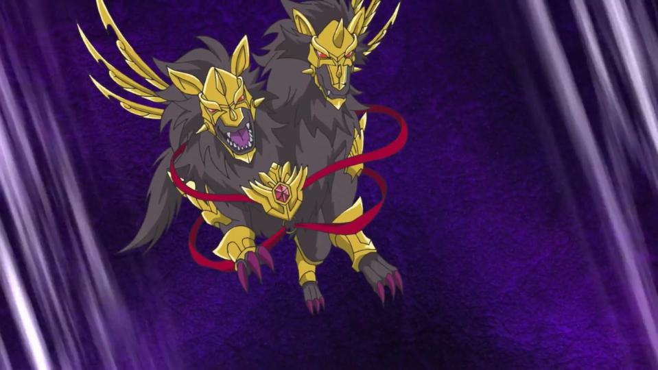 Twin-Headed Hellhound, Orthrus (character)