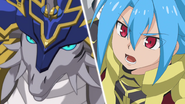 Tasuku & Orcus Sword Dragon (Close)