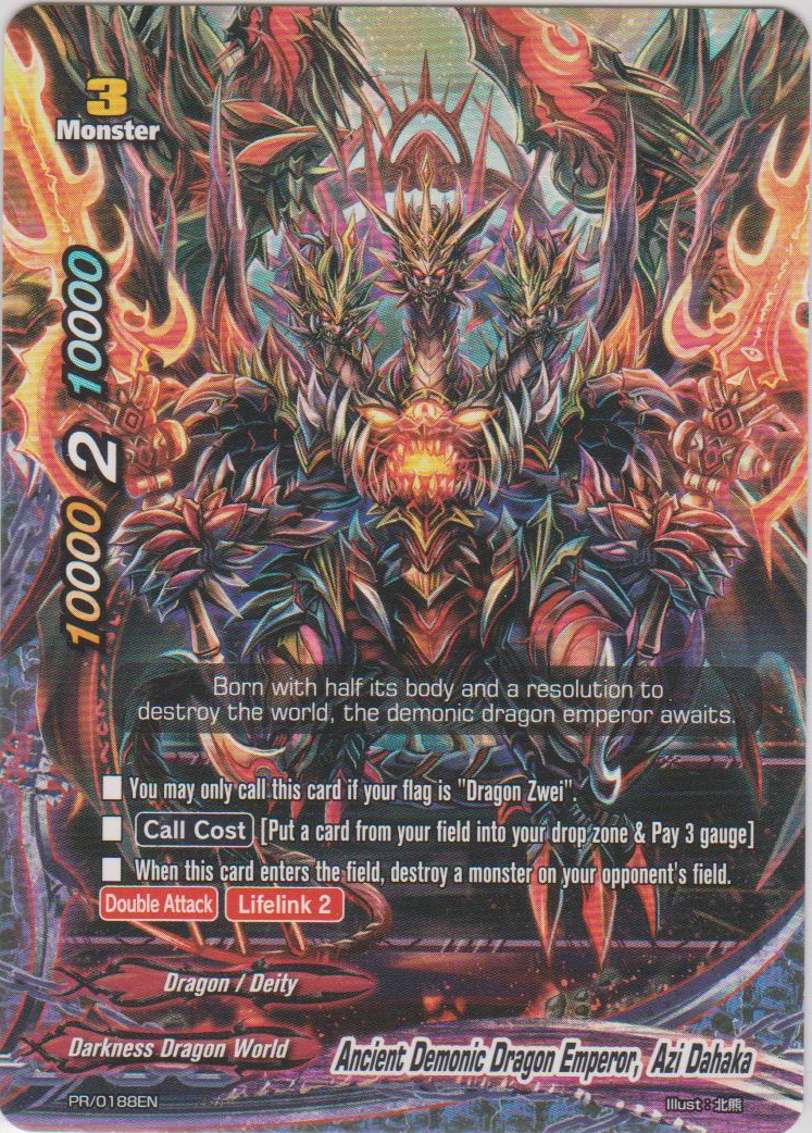 Ancient Demonic Dragon Emperor, Azi Dahaka