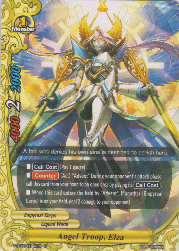 Angel Troop, Elza