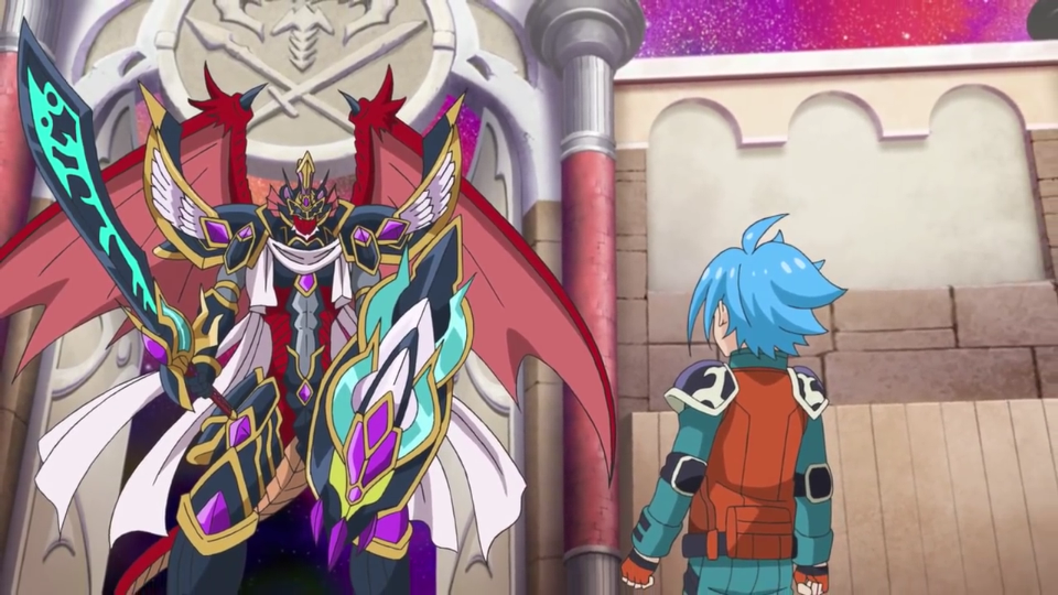 Super Armordragon, Galvanic Feather Dragon (character)