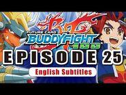 Sub Episode 25 Future Card Buddyfight Hundred Animation