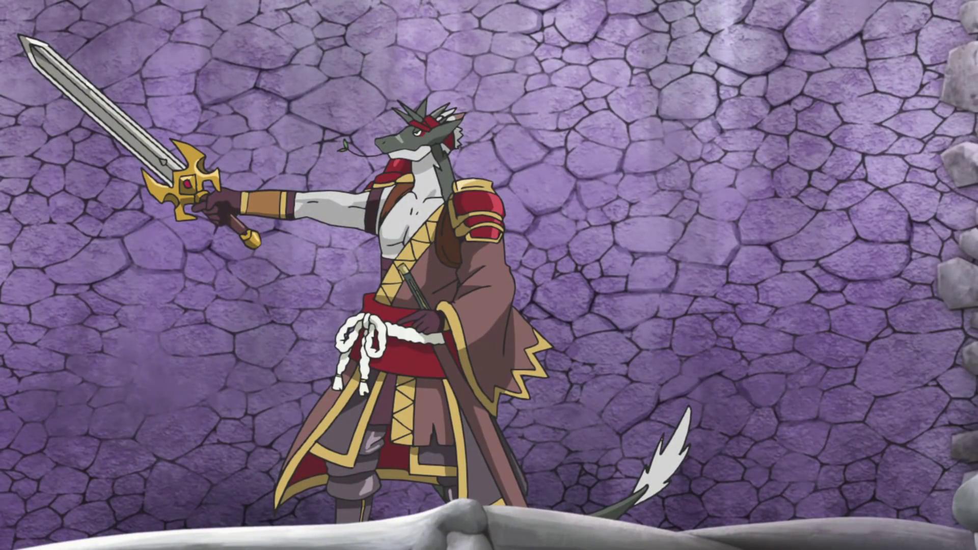 Fifth Omni Cavalry Dragon, Magical Blade Mizaru (character)