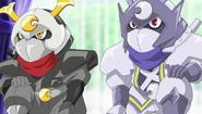 Tsukikage & Byakuya (SD)