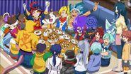 Gao's friends celebration
