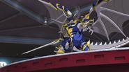 Purgatory Knights Liberator, Orcus Sword Dragon (Anime-NC-3)