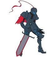 Black Dragon Knight, Iblis