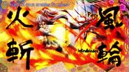 Tsubasa Kazanari 29 - Attack - Fiery Windblades