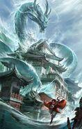 Dragon chinese water ZA ENDO