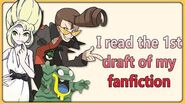 I read the first draft of my fanfic-0