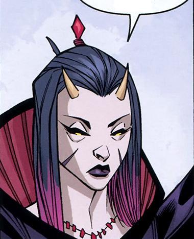 Unidentified female demon (Wonderland)