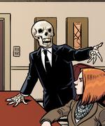 Skeleton demon
