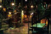 Buffy spike's factory indoor set design