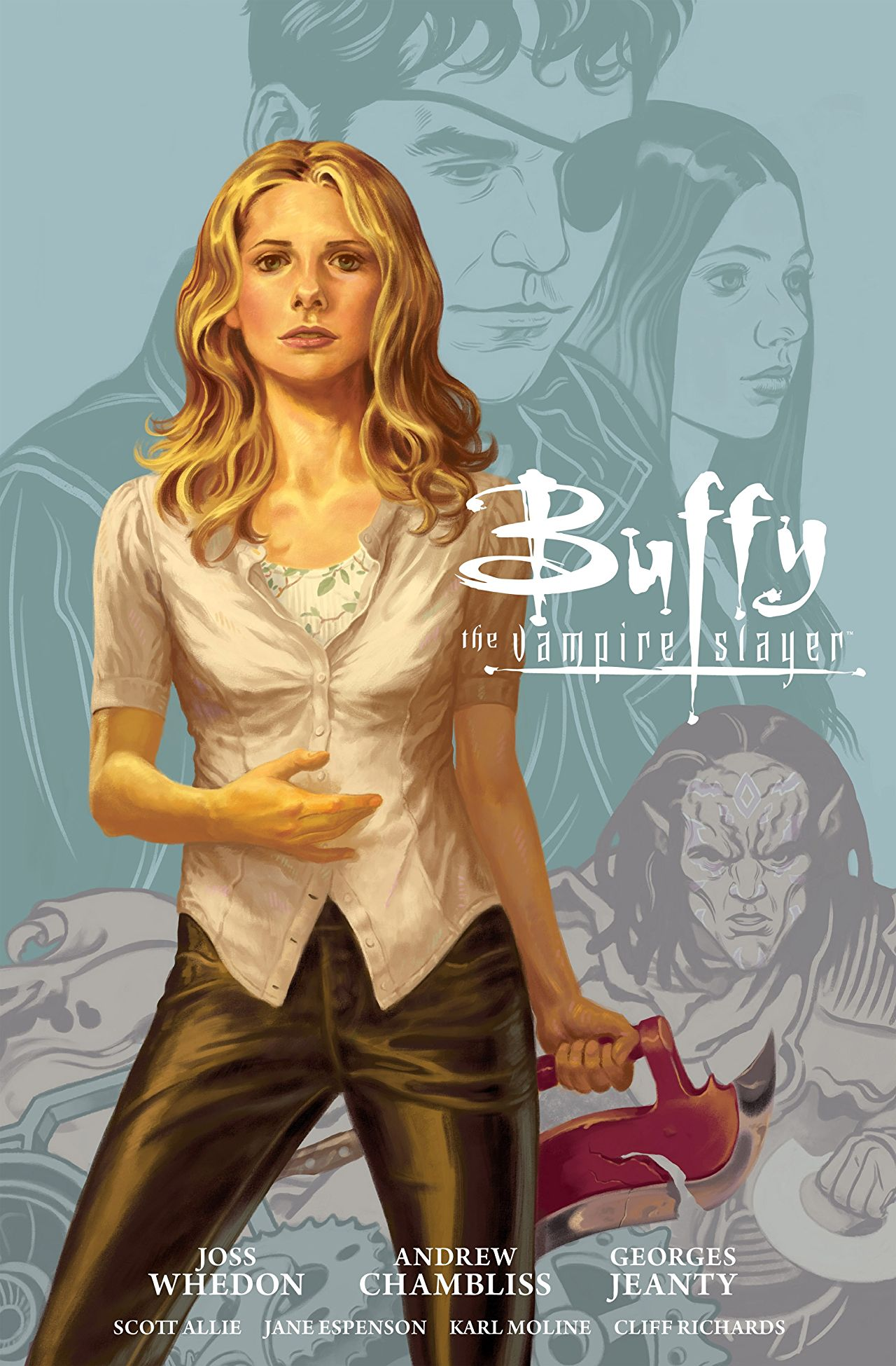 Buffy the Vampire Slayer Season Nine Library Edition, Volume 1