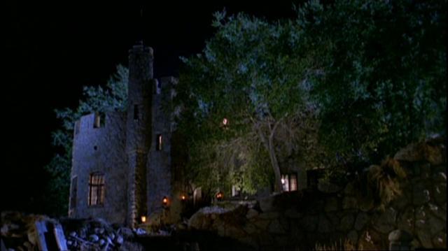 Dracula's mansion