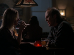 Darla in a vampire bar