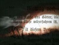 Buffy title sequence 666 (seasons 1-2)