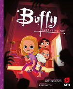 Buffy the Vampire Slayer picture book ES