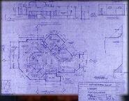 Sunnydale high library blueprint