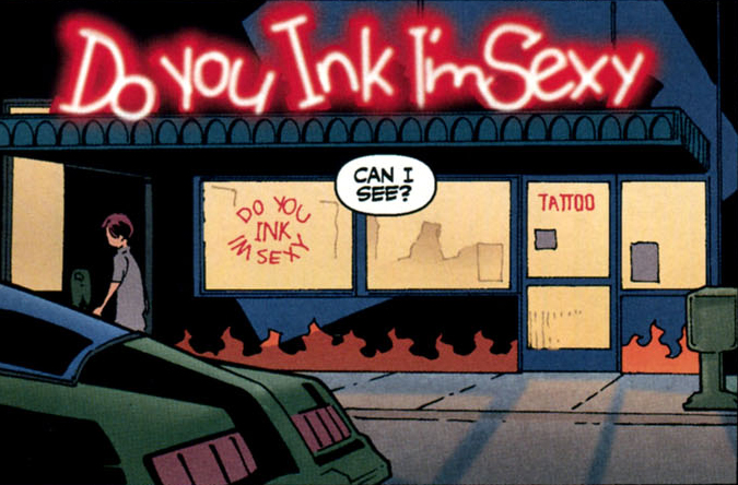 Do You Ink I'm Sexy