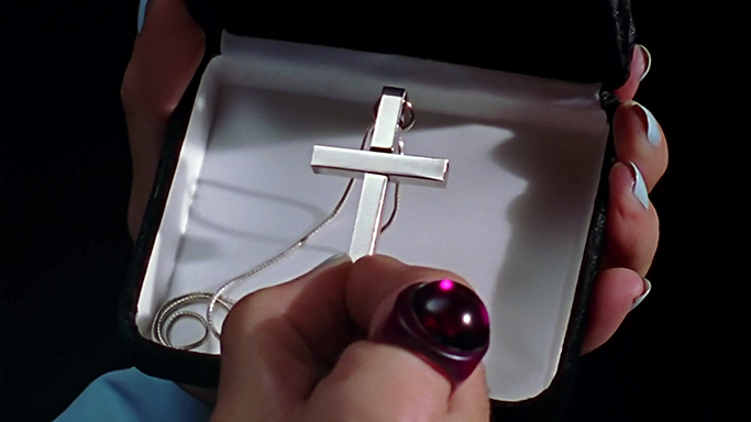 Buffy Summers' cross necklace