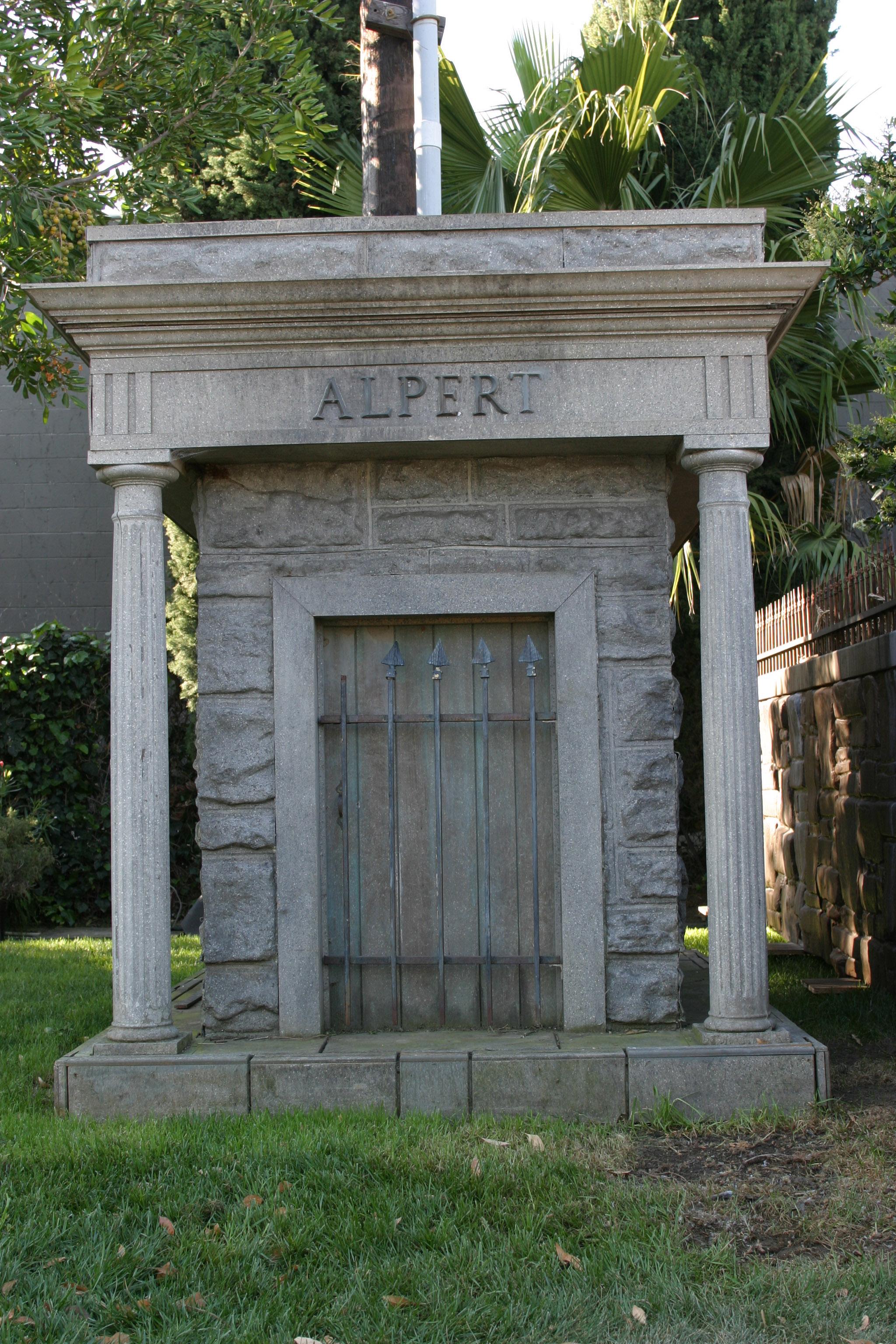 Alpert mausoleum