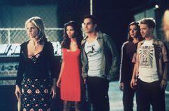 B3x03 Buffy Cordelia Xander Willow Oz