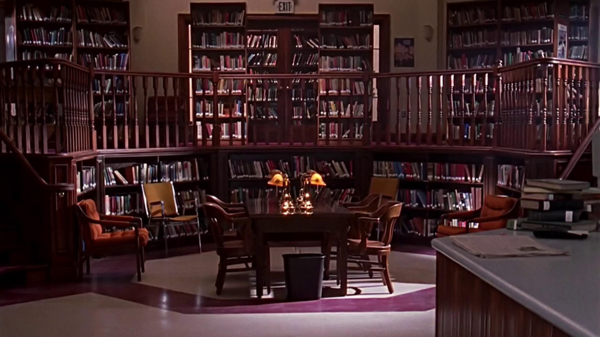 Bibliothèque du Lycée de Sunnydale