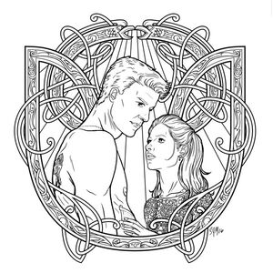 Buffy The Vampire Slayer Adult Coloring Book Wiki Buffyverse Fandom