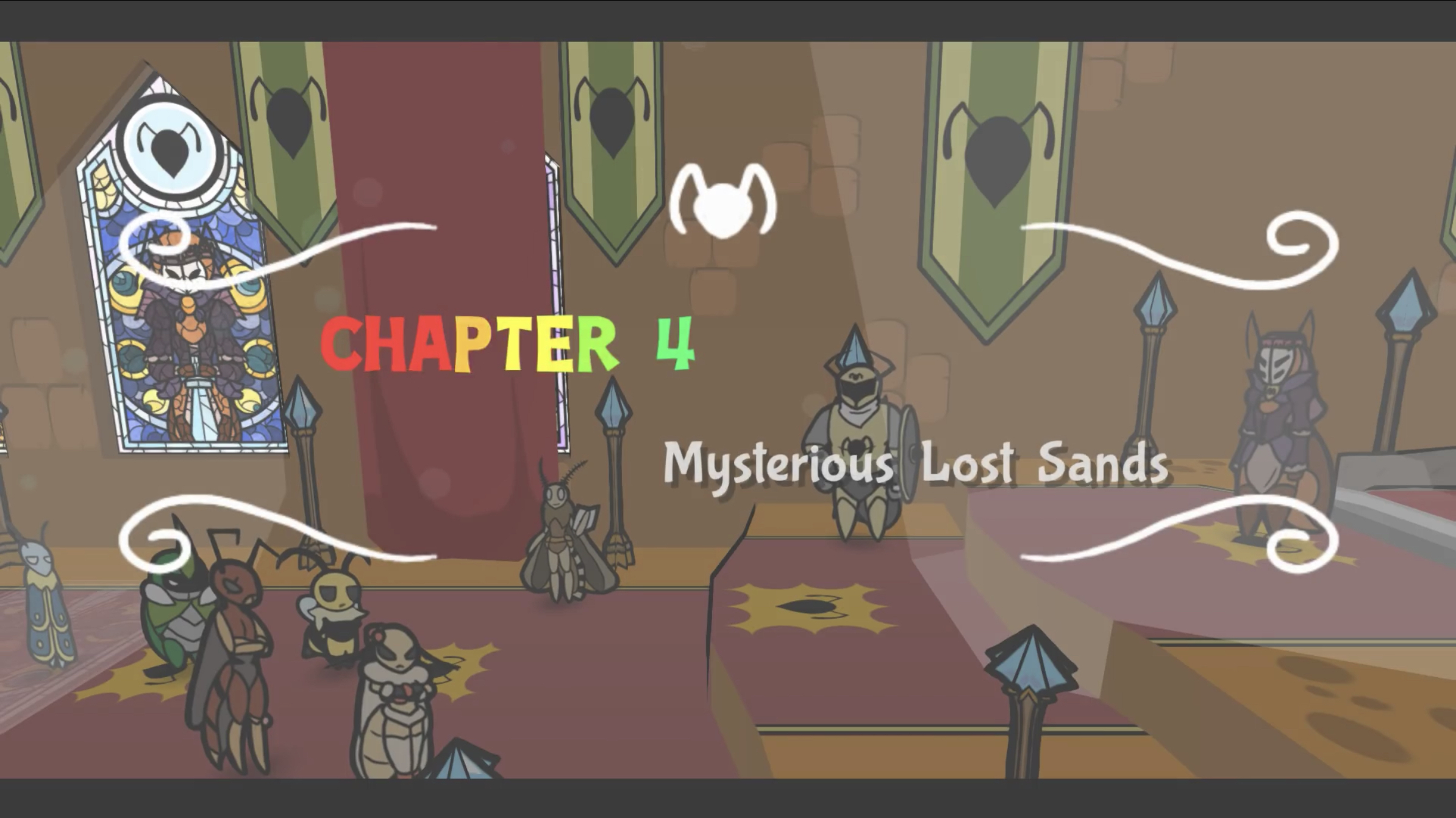 Chapter 4: Mysterious Lost Sands