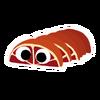 Ruby Peelbug sticker