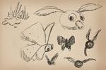 Lizbert sketches Cheepoof Lollive