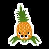 Pineantula sticker