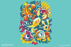 Fangamer Lunch Bunch shirt design.png