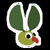 Green Lollive sticker