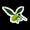 Green Grapeskeeto sticker