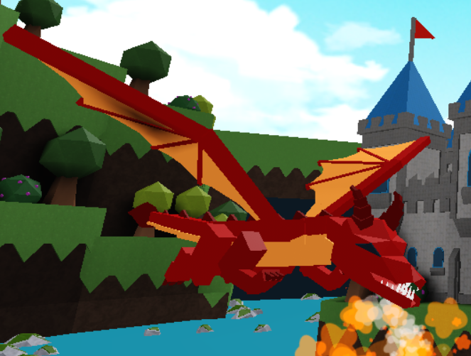 Roblox How To Win Build A Boat For Treasure Red Dragon Build A Boat For Treasure Wiki Fandom