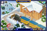Ski Lodge Train Station