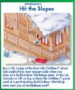 Ski Lodge Ad