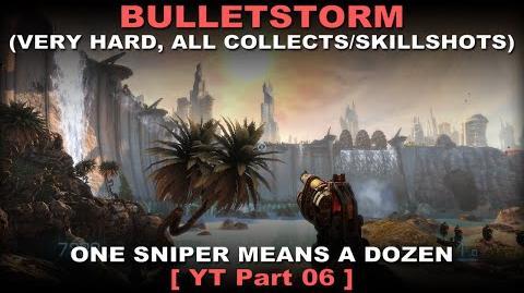 Bulletstorm Walkthrough part 6 Very hard + ALL Collectables Skillshots ( No commentary ✔ )