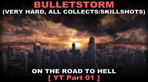 Bulletstorm Walkthrough part 1 Very hard + ALL Collectables Skillshots ( No commentary ✔ )