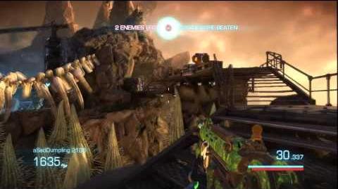 Bulletstorm multiplayer gameplay