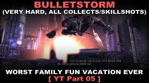 Bulletstorm Walkthrough part 5 Very hard + ALL Collectables Skillshots ( No commentary ✔ )