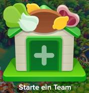 Bauernmesse Starte ein Team